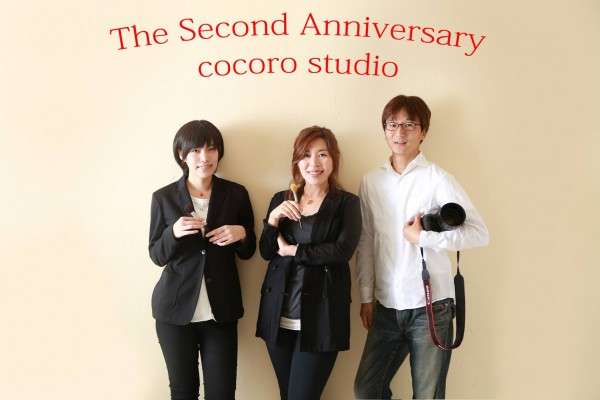cocoro2周年写真