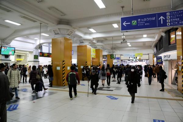 JR三ノ宮駅中央改札