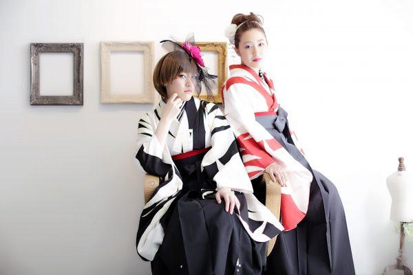 卒業袴のレンタル&前撮りなら三宮ココロスタジオで