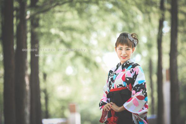卒業袴レンタル&前撮りは三宮ココロスタジオで